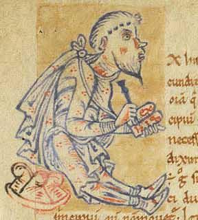 Macrobe écrivant le commentaire du Songe de Scipion