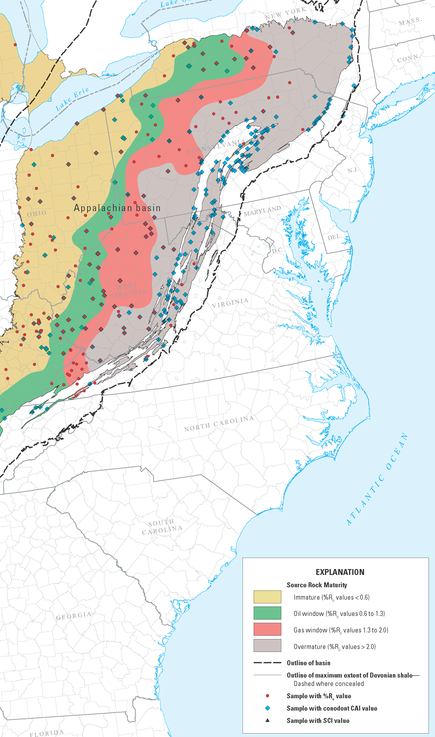 Marcellus Thermal Maturity