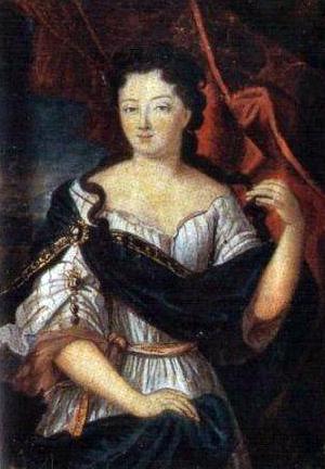 Портрет Мари-Элеонор де Майе-Брезе де Карман