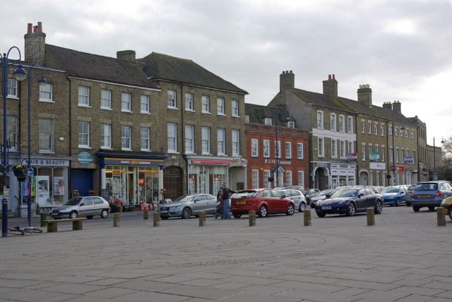 Market Square, St Neots - geograph.org.uk - 1206649
