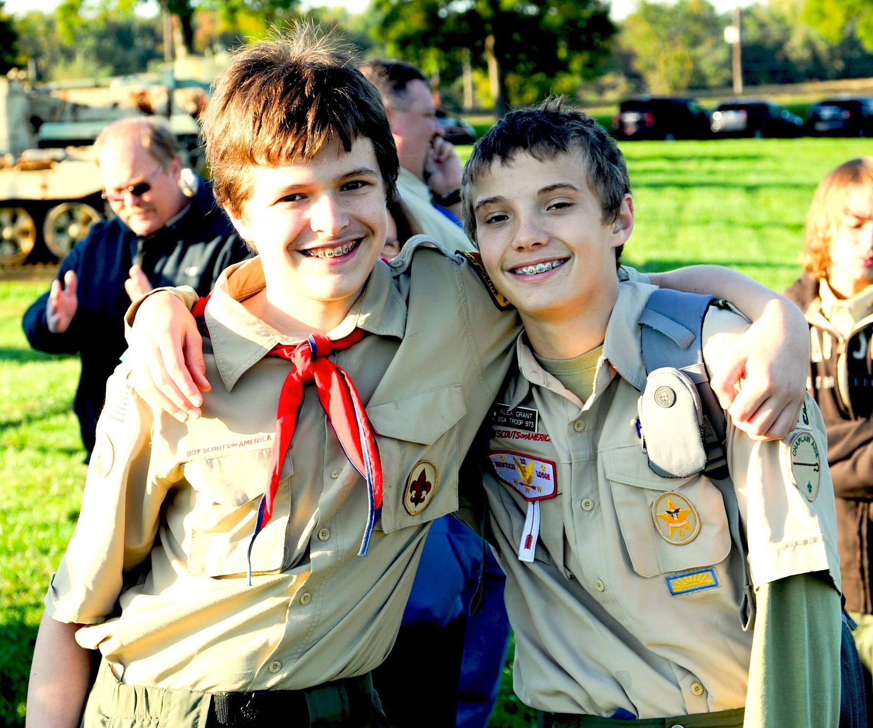 Boy Scout Team Building