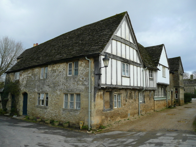 Mediaeval house in Lacock - geograph.org.uk - 1167786