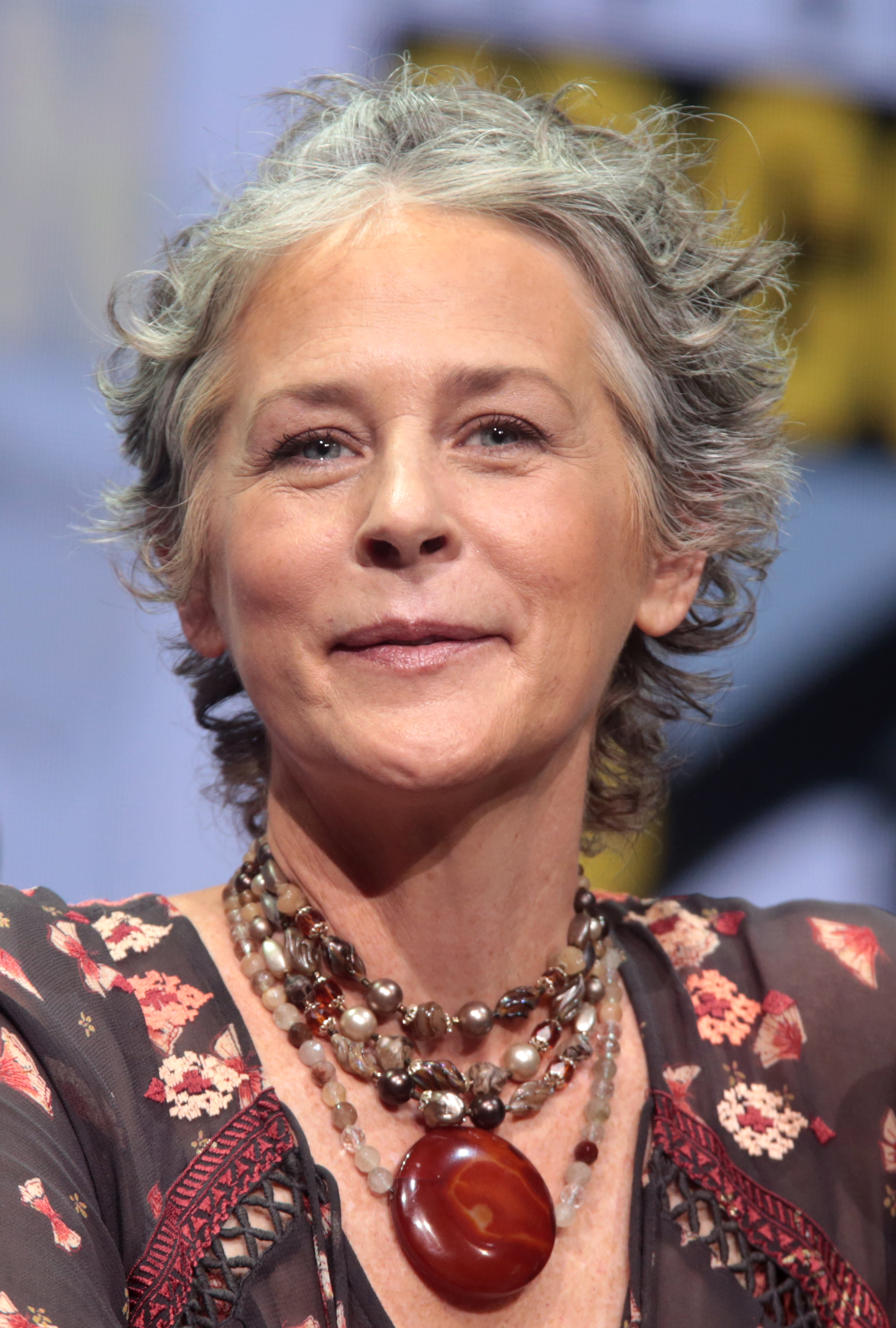The 53-year old daughter of father Reuben McBride and mother Mary Anna Anderson Melissa McBride in 2018 photo. Melissa McBride earned a  million dollar salary - leaving the net worth at 4 million in 2018