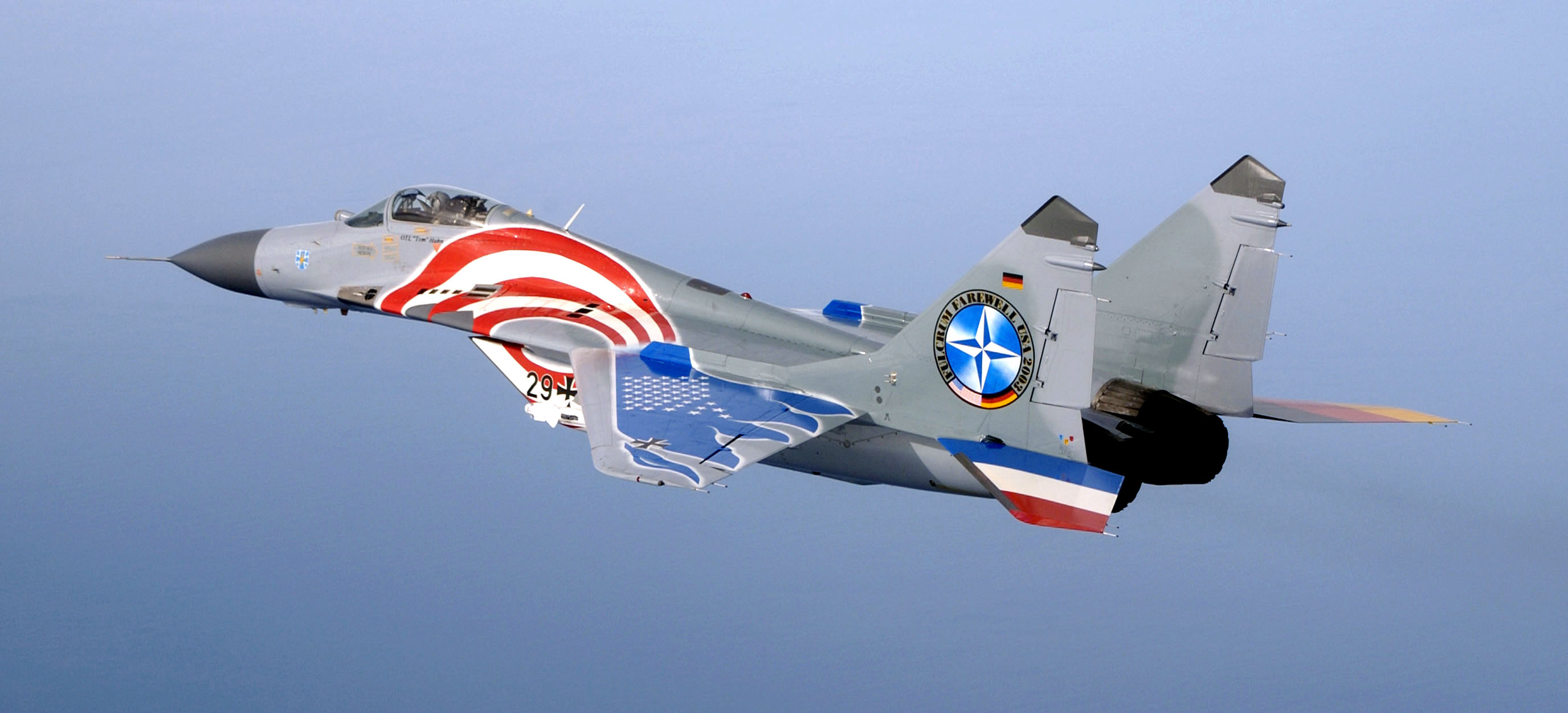 File mig 29 luftwaffe special paint wikimedia for 29 in french