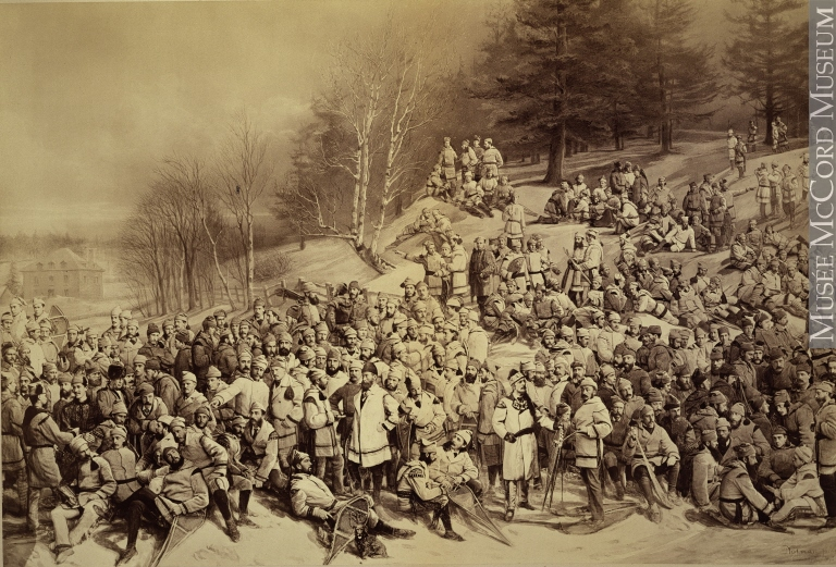 Montreal Snowshoe Club 1877