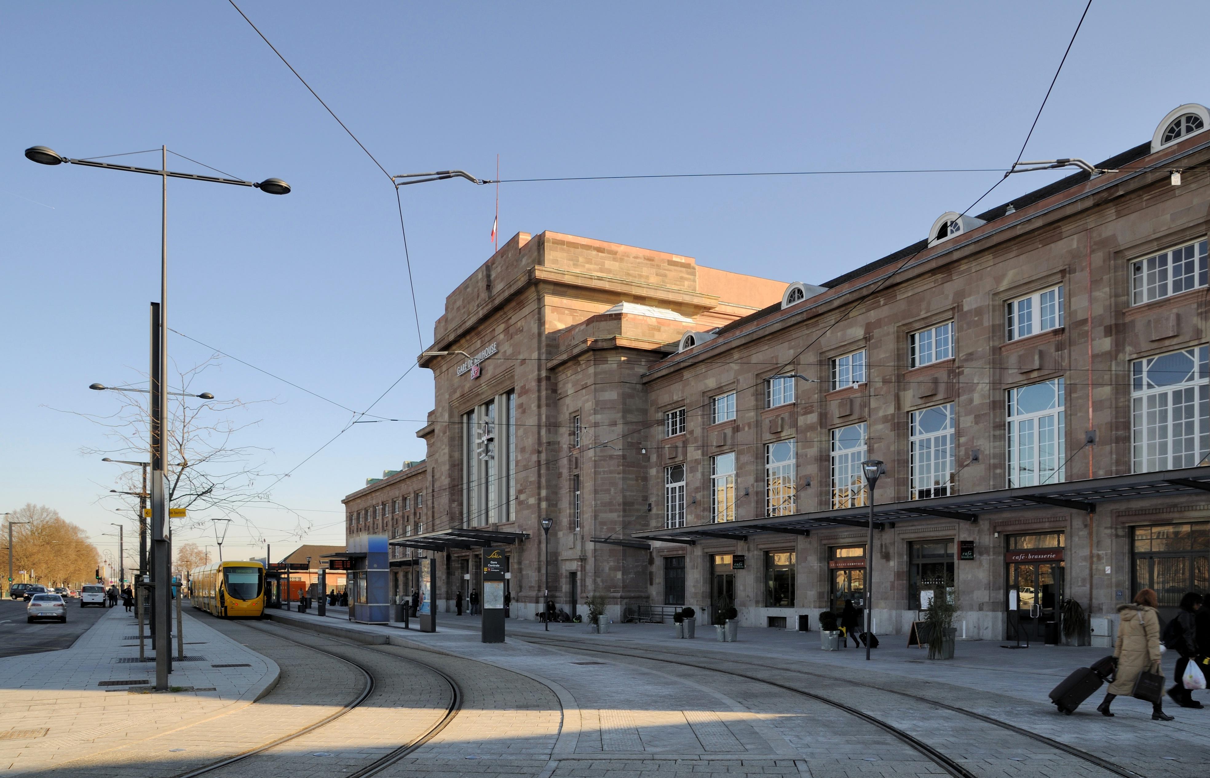 Gare de mulhouse ville wikiwand - Piscine contemporaine lyon mulhouse ...