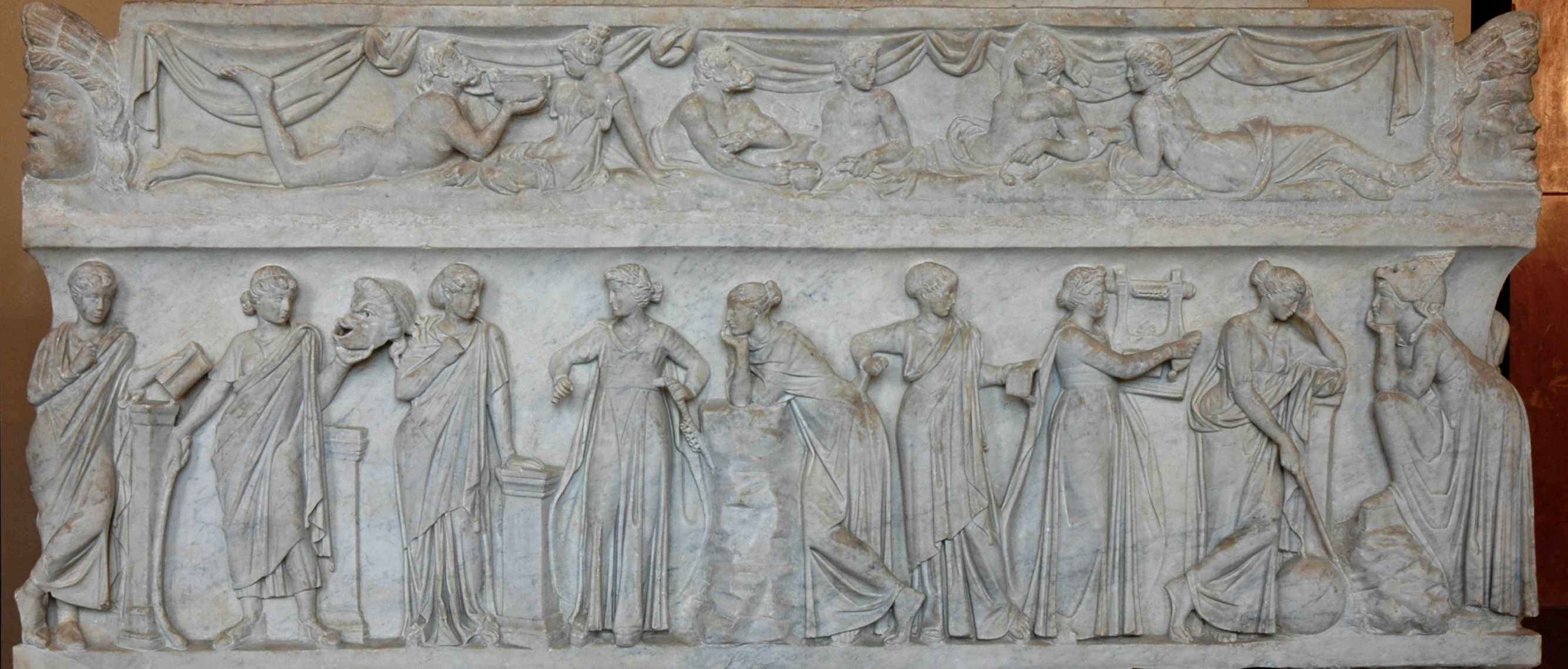 """Muses Sarcophagus"""