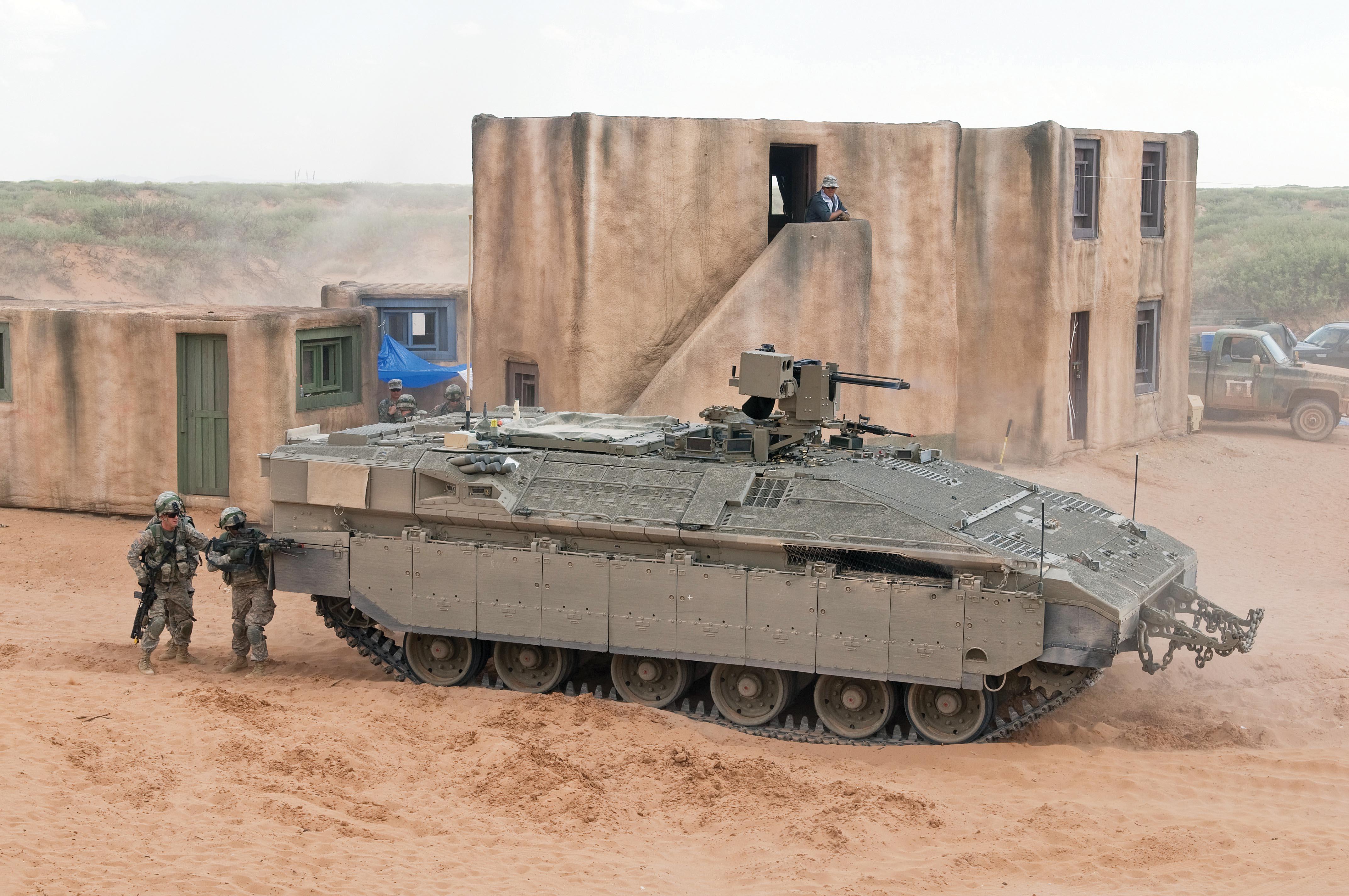 Absicht auf Tests in den USA für die Bedürfnisse der amerikanischen Armee.