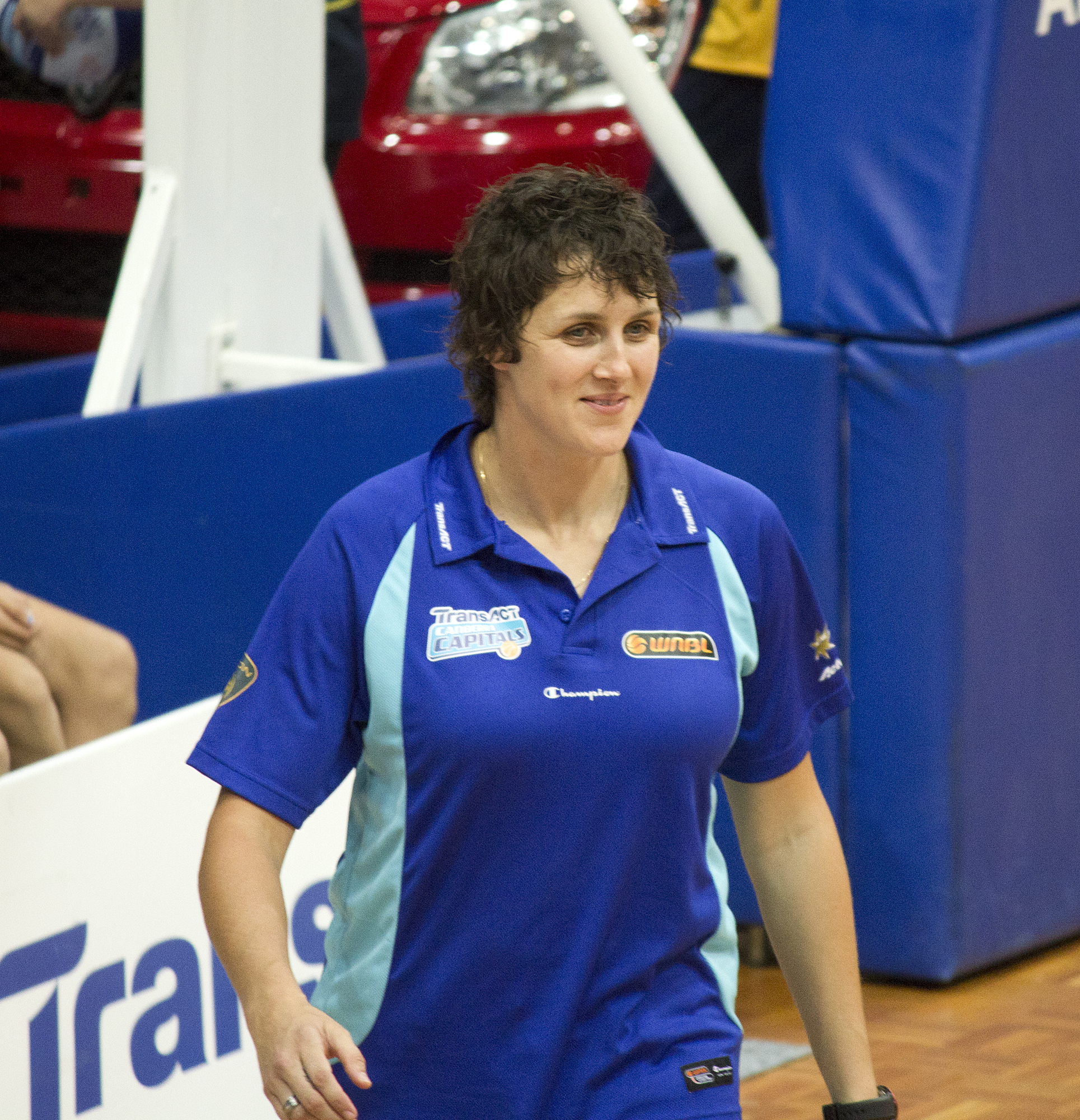 Natalie Porter during a [[Canberra Capitals|Capitals]] game at AIS Arena
