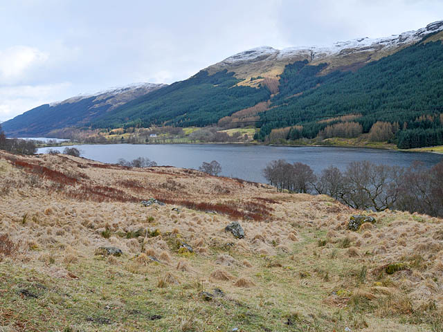 North shore of Loch Doine - geograph.org.uk - 760942