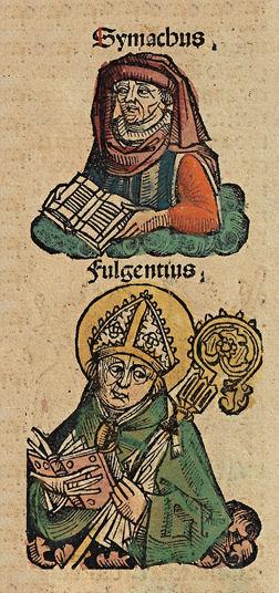 Illustrasjon fra Nürnberg-krøniken (1493)