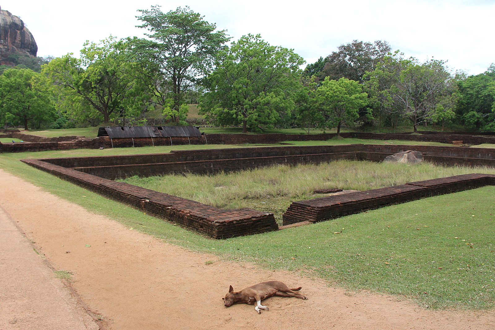 file old swimming pool for the king and his slaves lion rock sri lanka jpg wikimedia commons