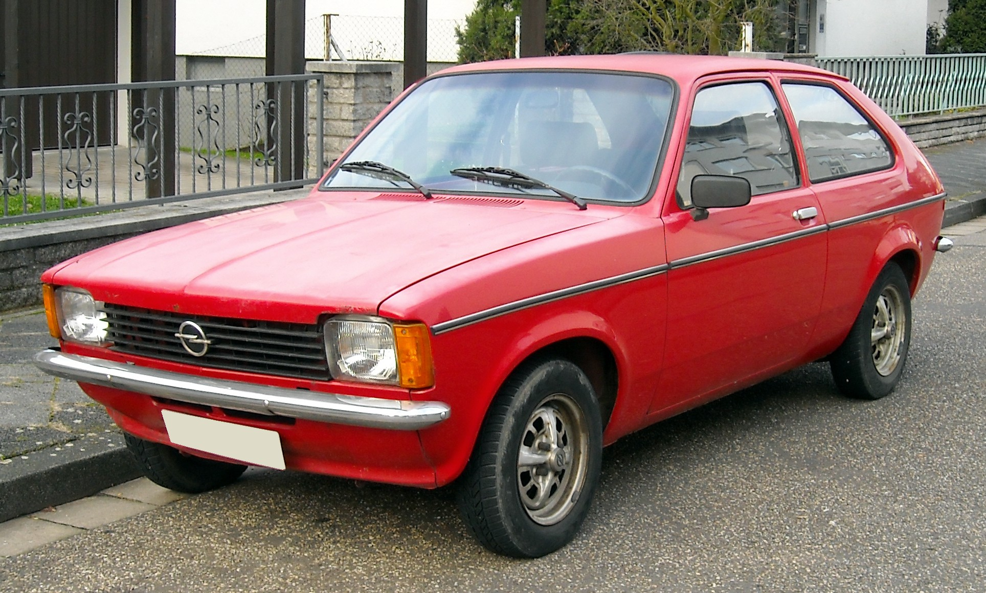 file opel kadett c city front wikimedia commons. Black Bedroom Furniture Sets. Home Design Ideas
