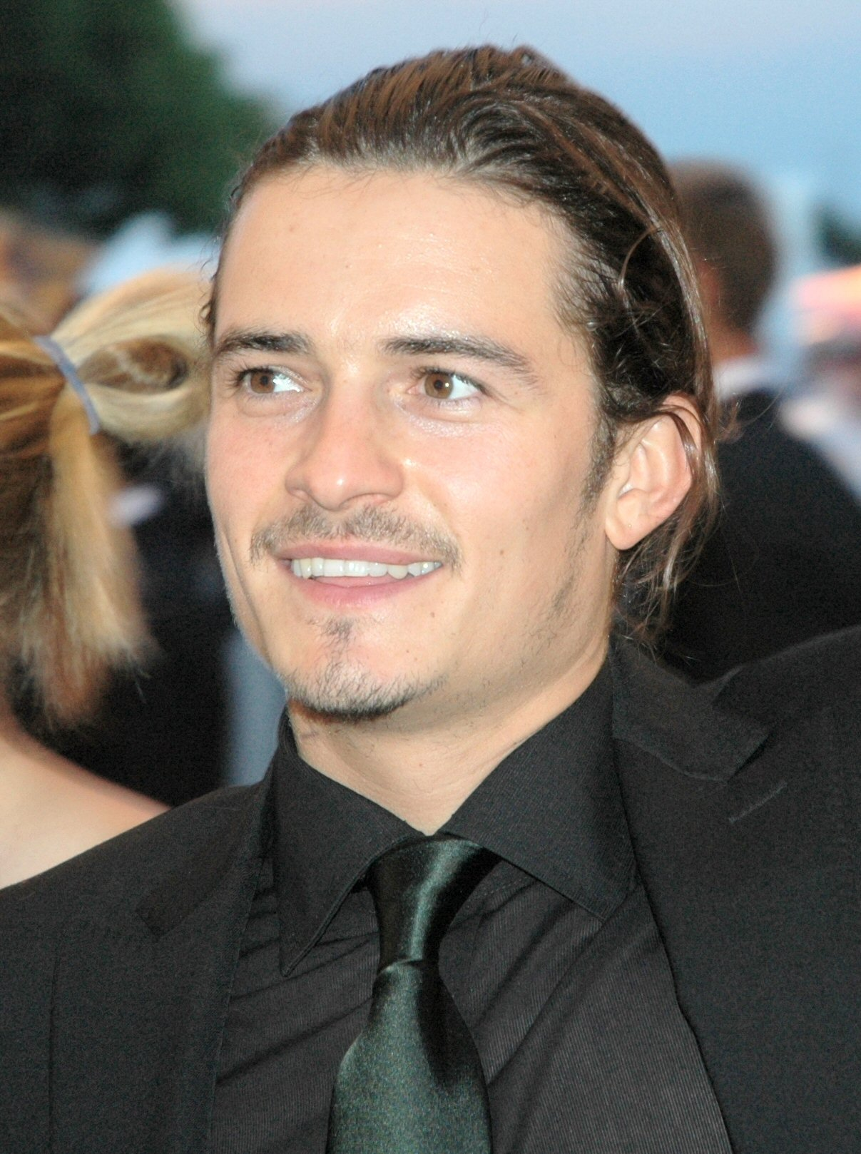 Orlando Bloom at Venice Festival