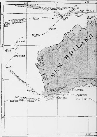 Page 353 map (The Life of Matthew Flinders).jpg