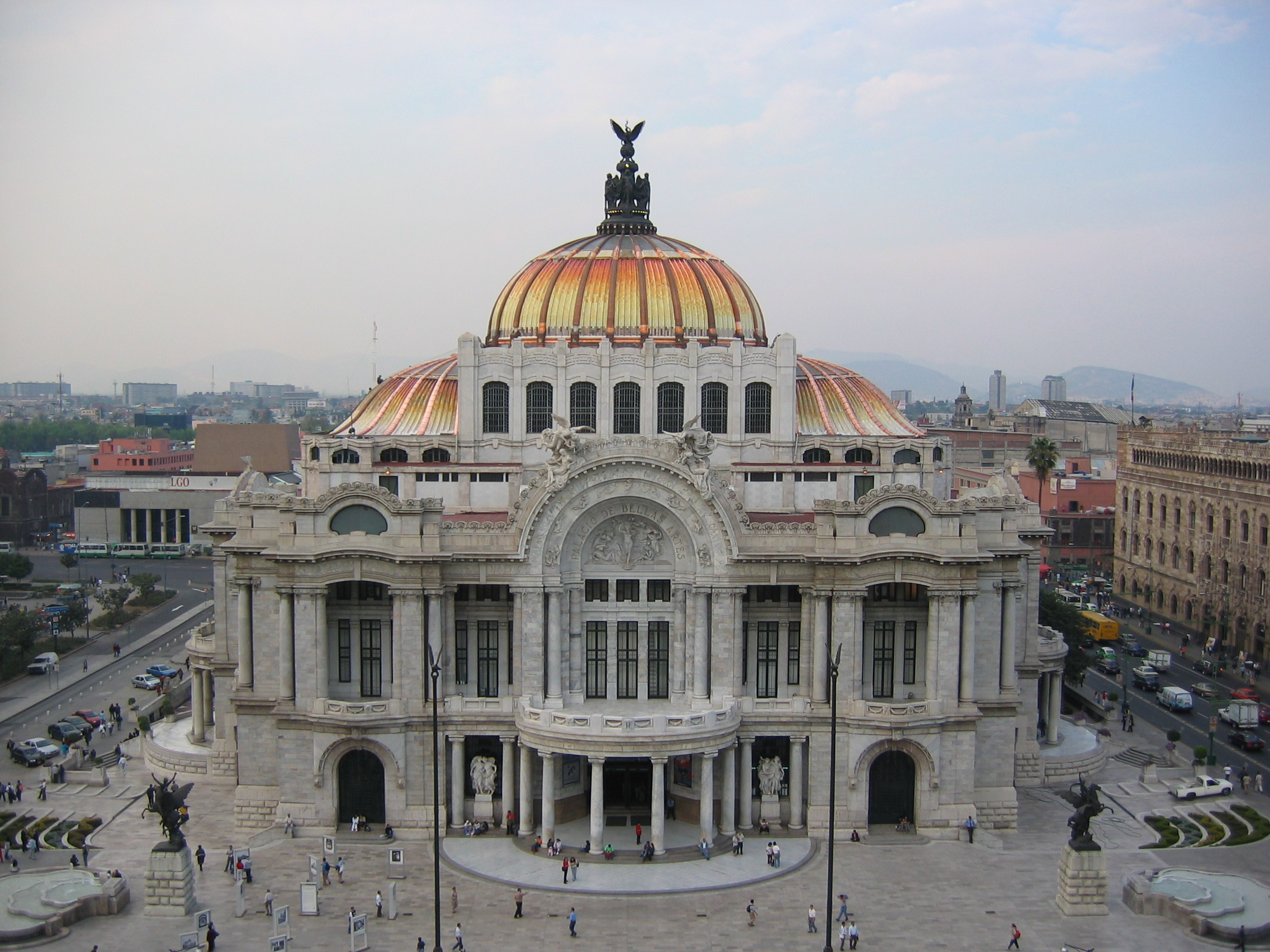 Archivo palacio de bellas artes wikipedia la for Palacio de los azulejos mexico
