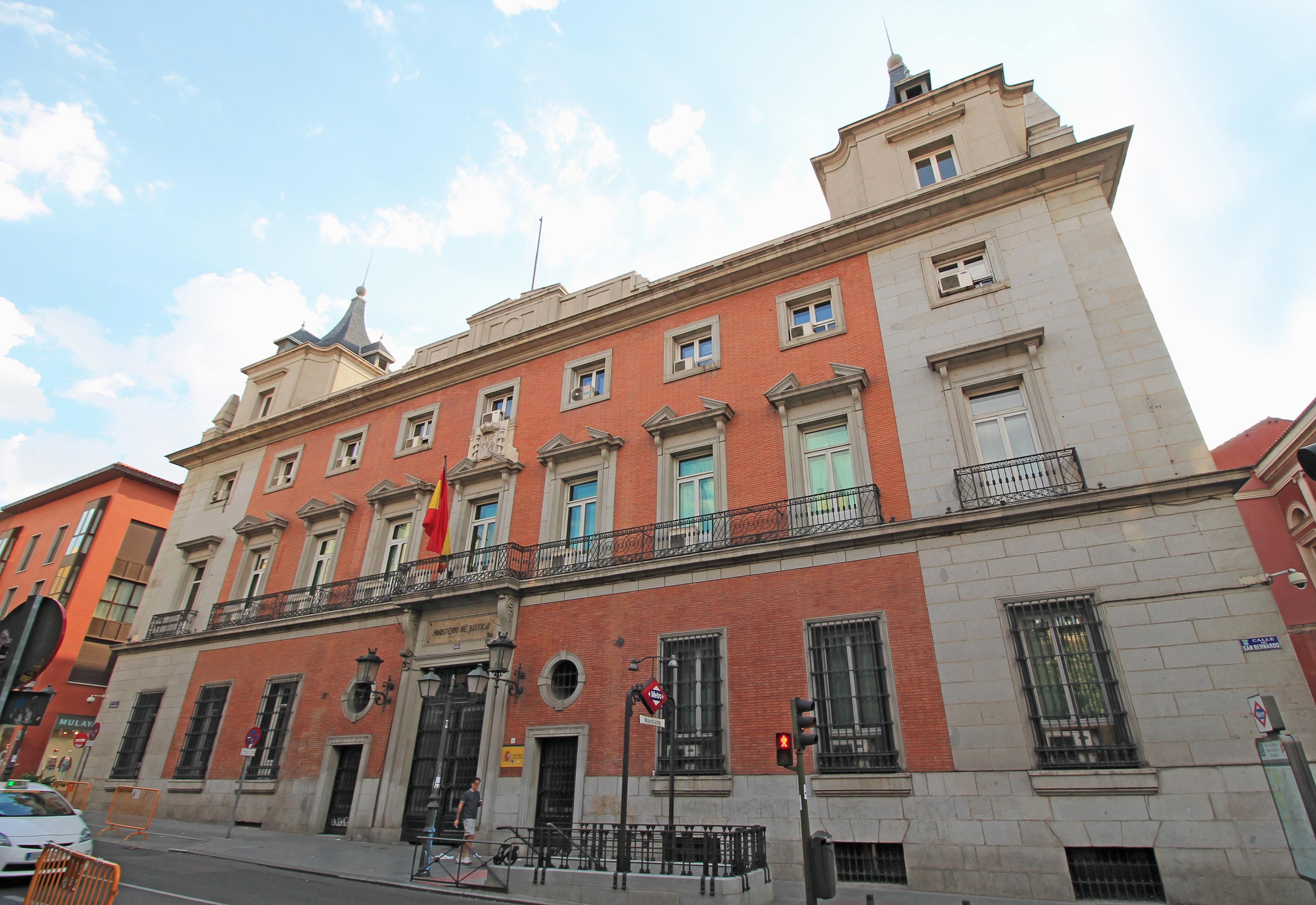 El Ministerio de Justicia es responsable del registro mercantil.