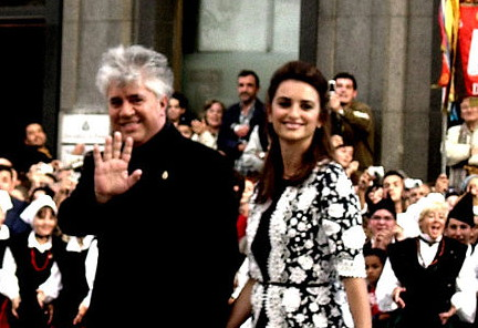 Director Pedro Almodóvar and actress Penélope Cruz - Film director