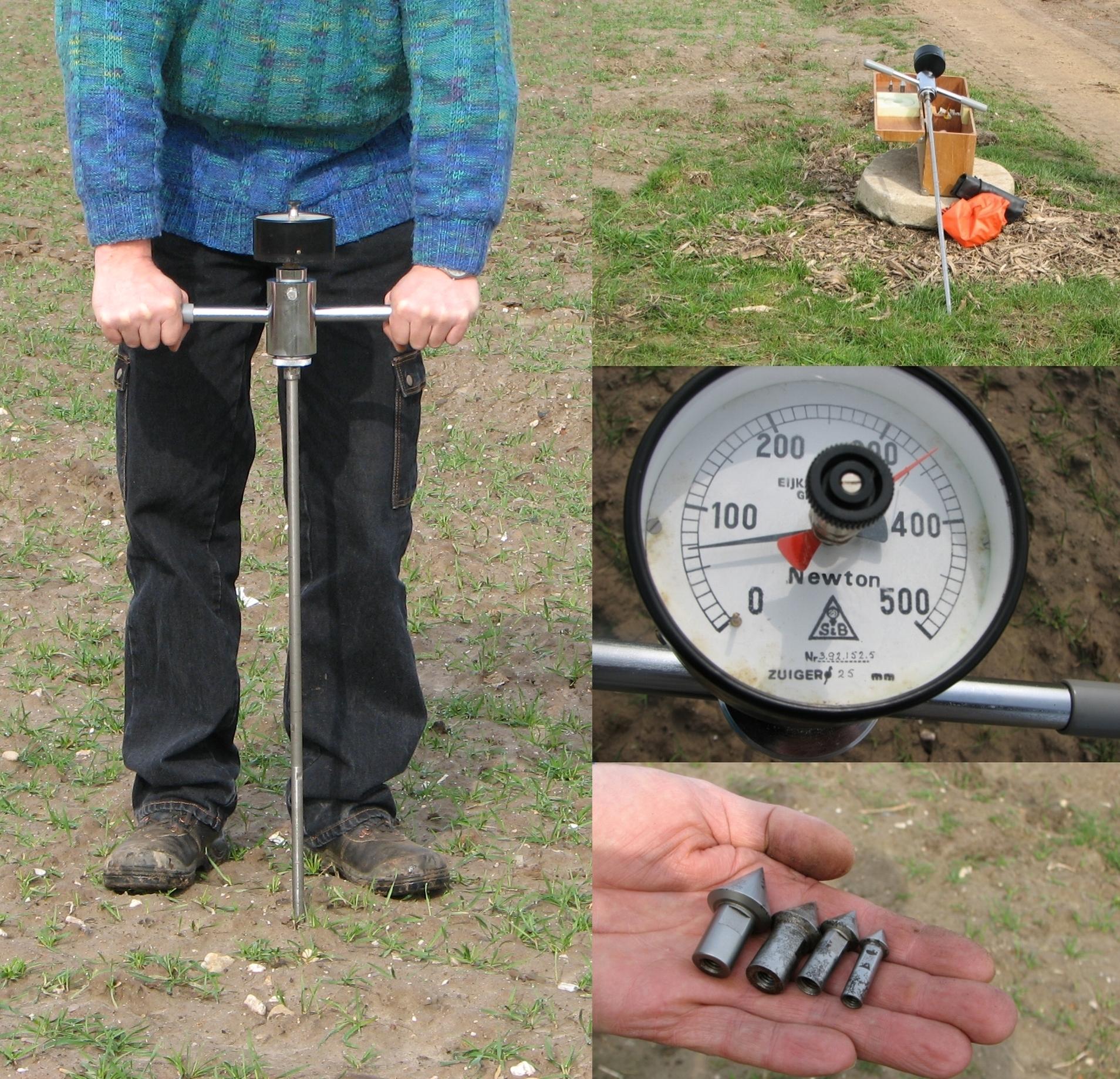 hand held penetrometer