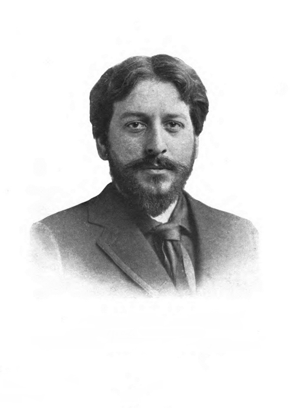 Richard Hovey, from the frontispiece of ''To the End of the Trail'' (1908).