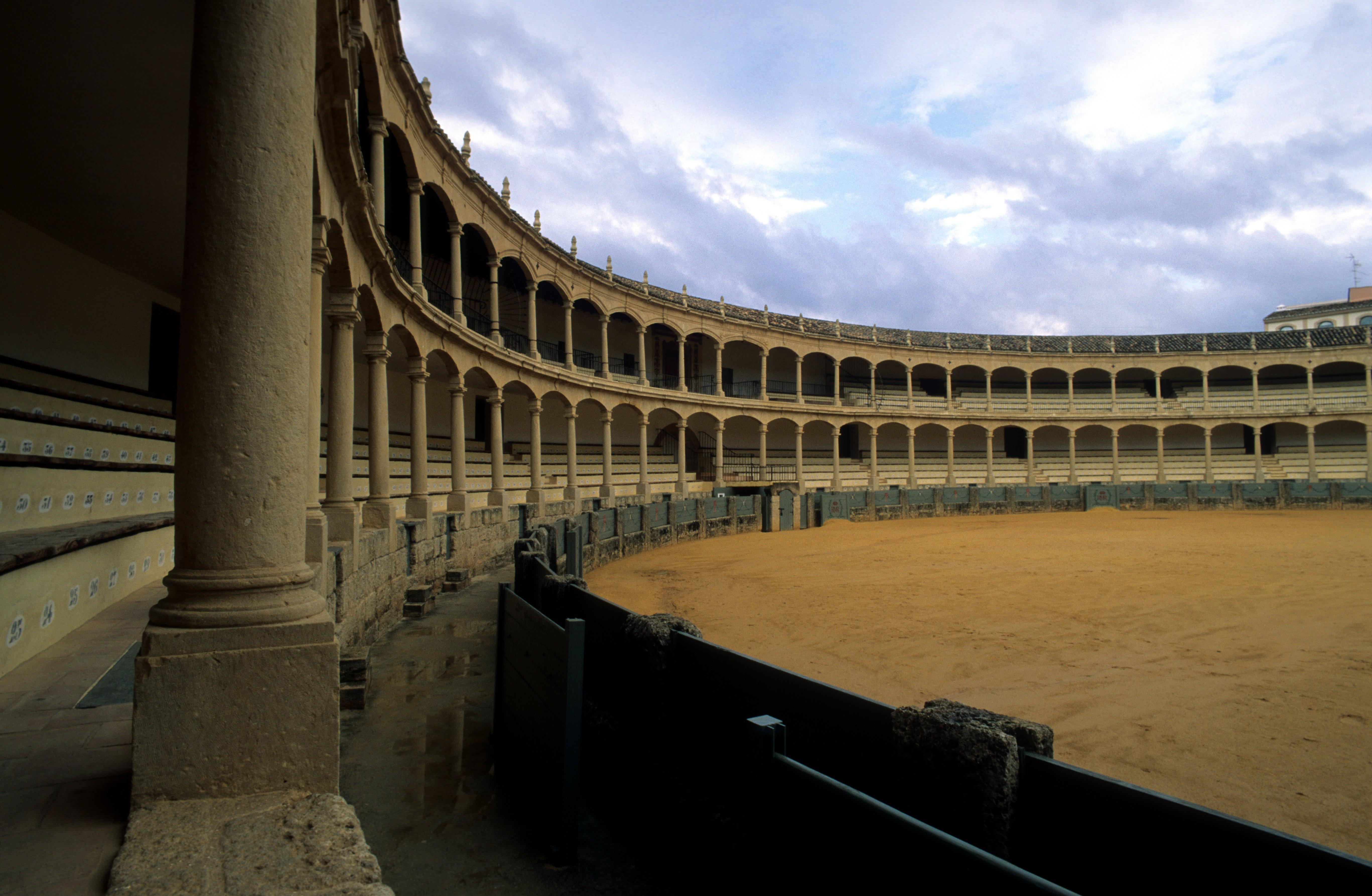 Depiction of Plaza de toros de Ronda