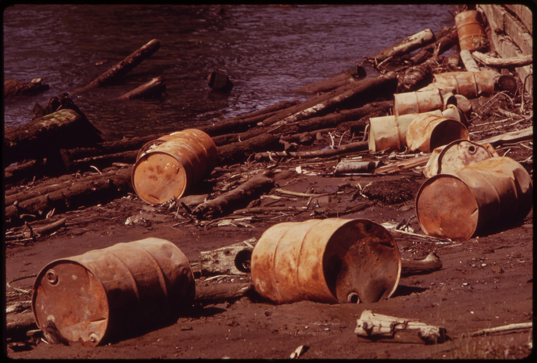 File Pollution Of The Snohomish River Everett Washington