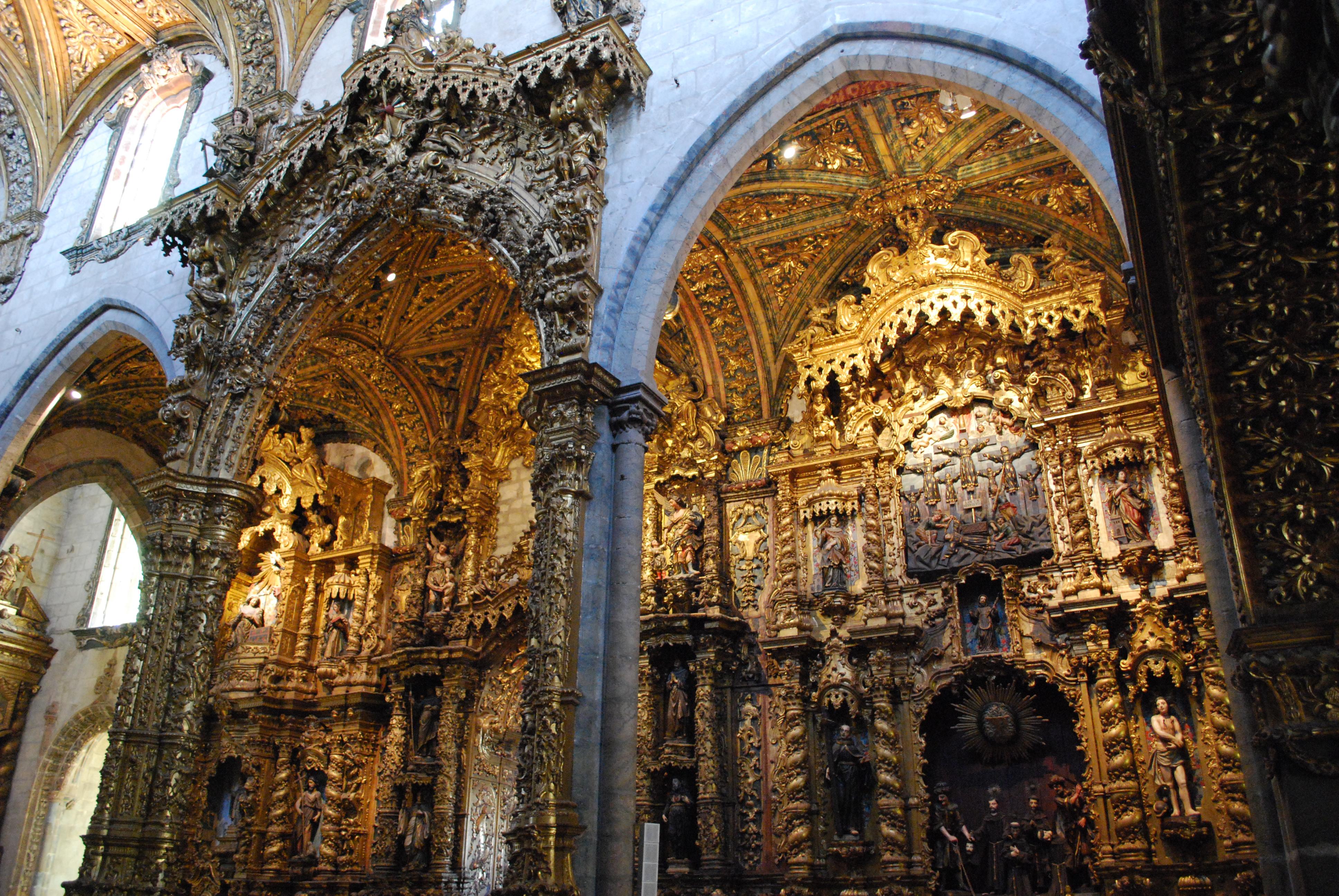 Muito File:Porto - Igreja de São Francisco - Retábulos.jpg - Wikimedia  GW29