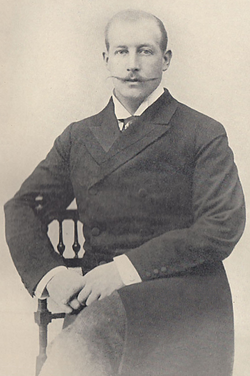 Prince George of Greece in 1902, High Commissioner in Crete.jpg