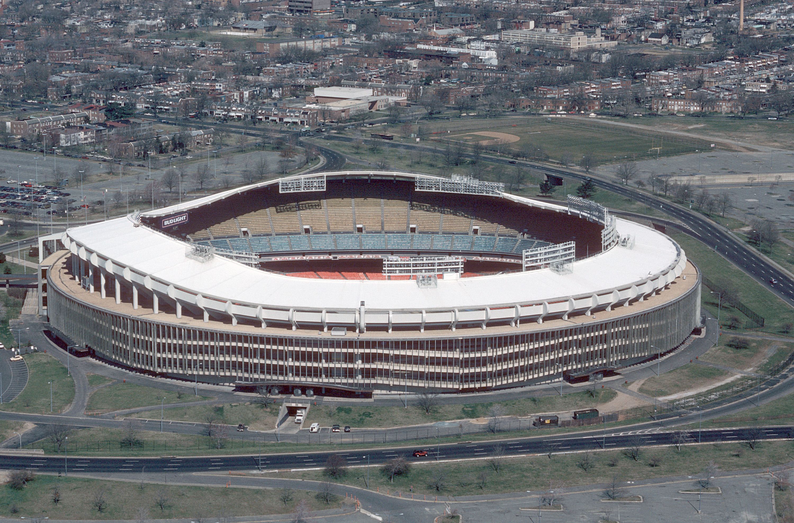 File Rfk Stadium Aerial Photo 1988 Jpeg Wikimedia Commons