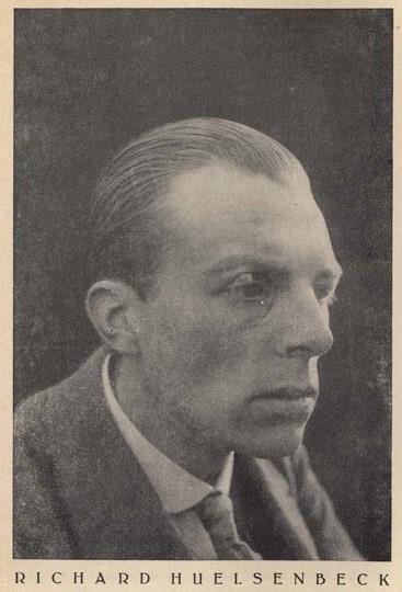RichardHuelsenbeckIn1920