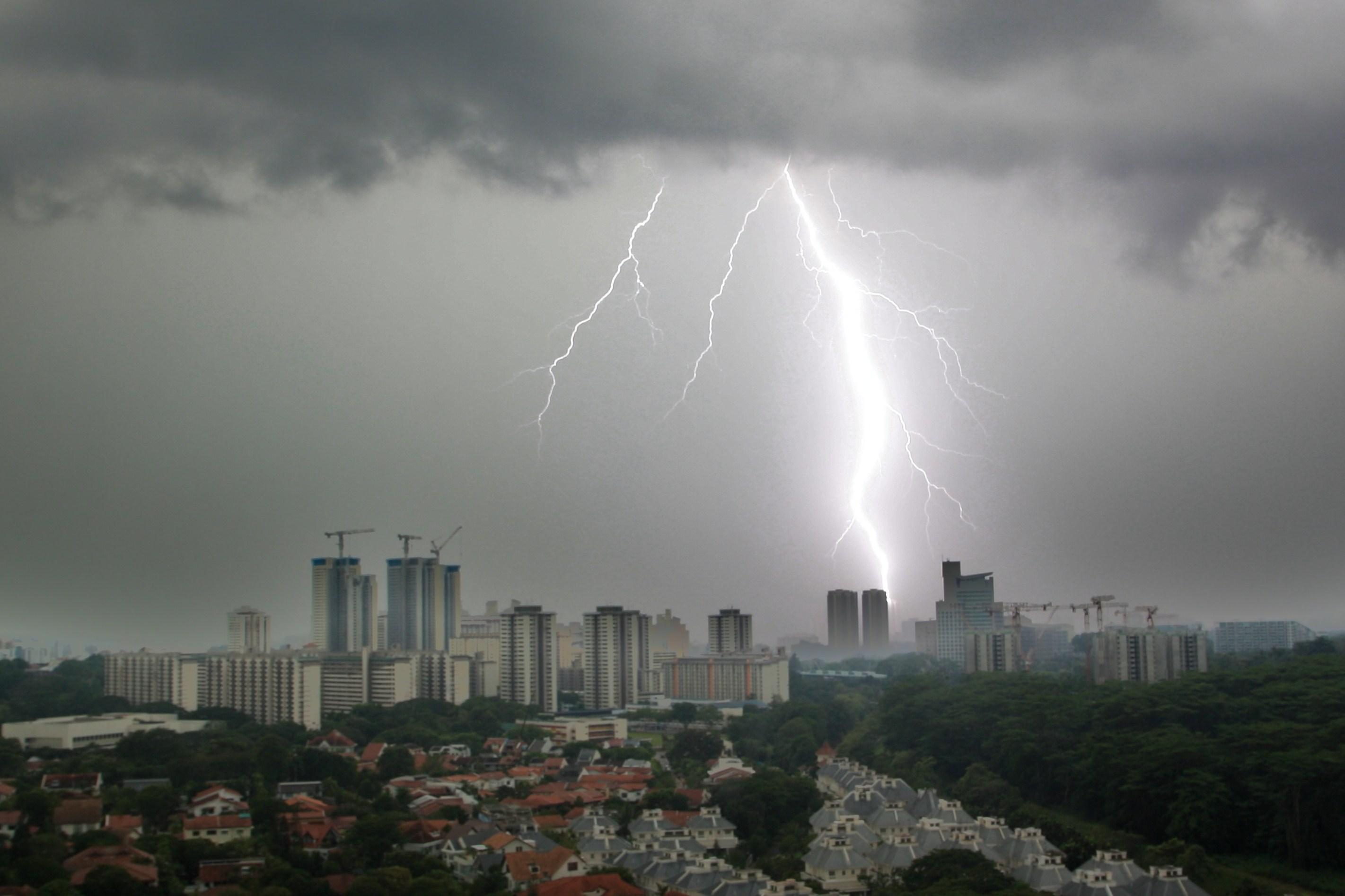 Climate Strike Wikipedia: Morning Lightning Strike In Singapore