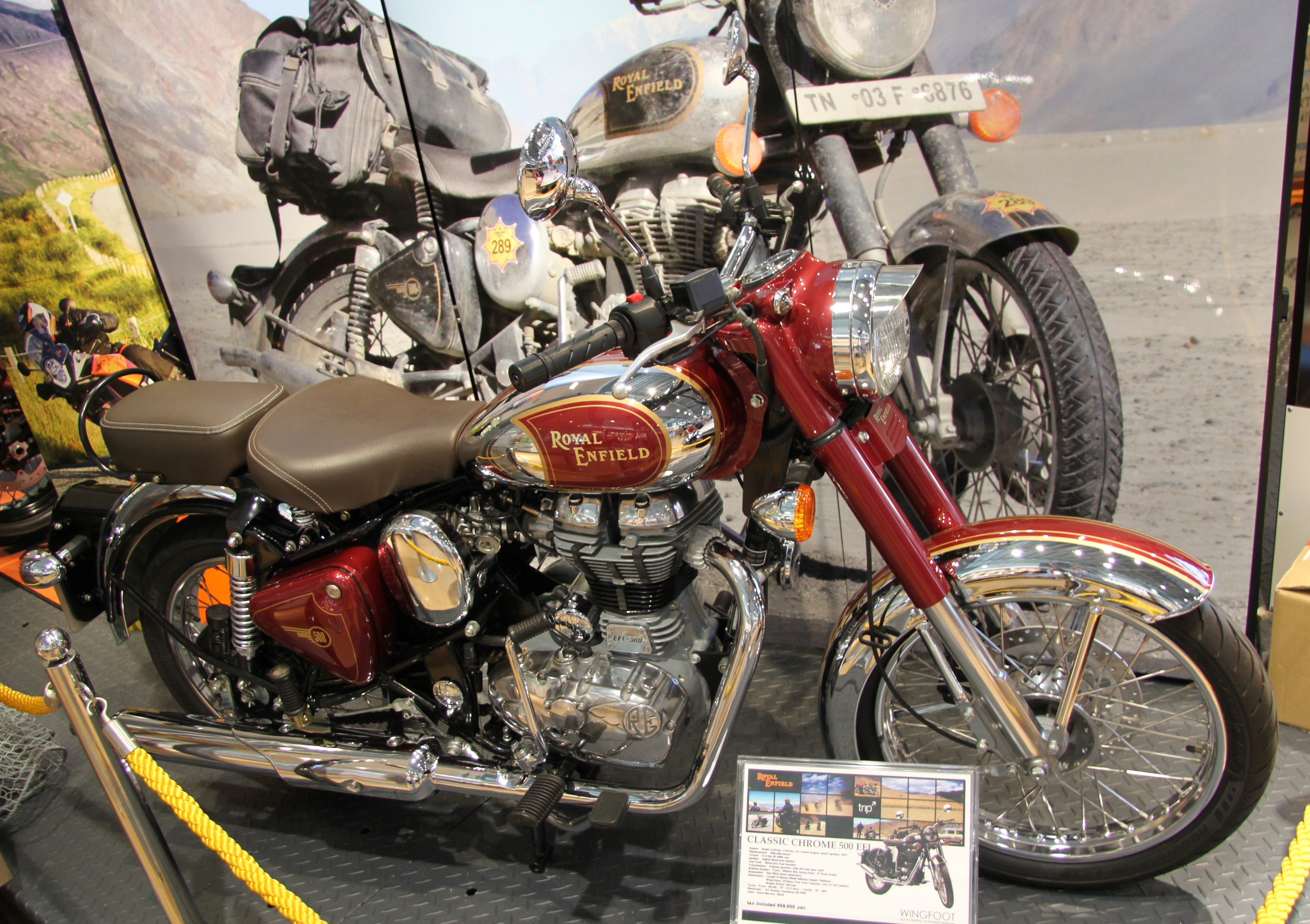 Royal Enfield Classic Chrome Modified File:royal Enfield Classic