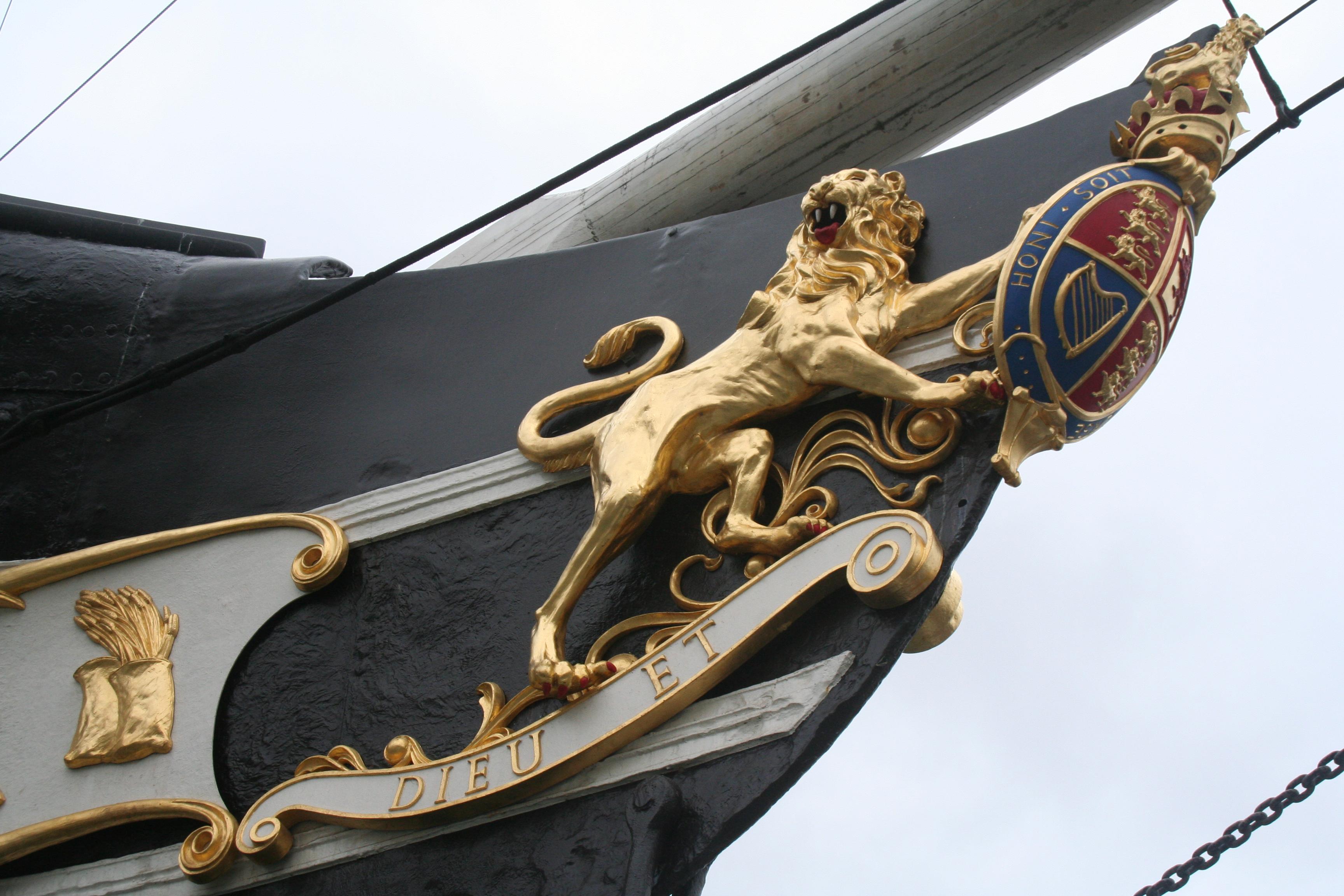 File ss great britain figurehead starboard wikimedia commons - Vendre des photos de star ...