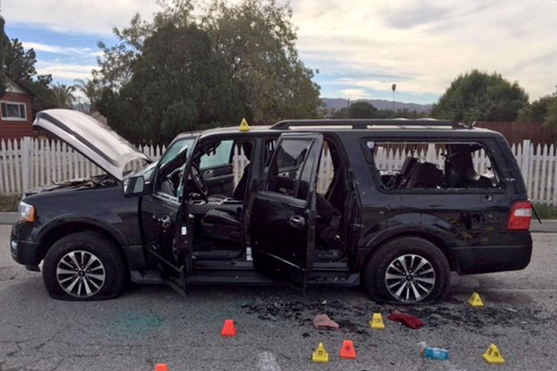Vůz teroristů ze San Bernardina - incidentu, kterému se dostalo zdaleka největšího mediálního pokrytí ve sledovaném období. Foto: San Bernardino County Sheriff's Department / Wikimedia