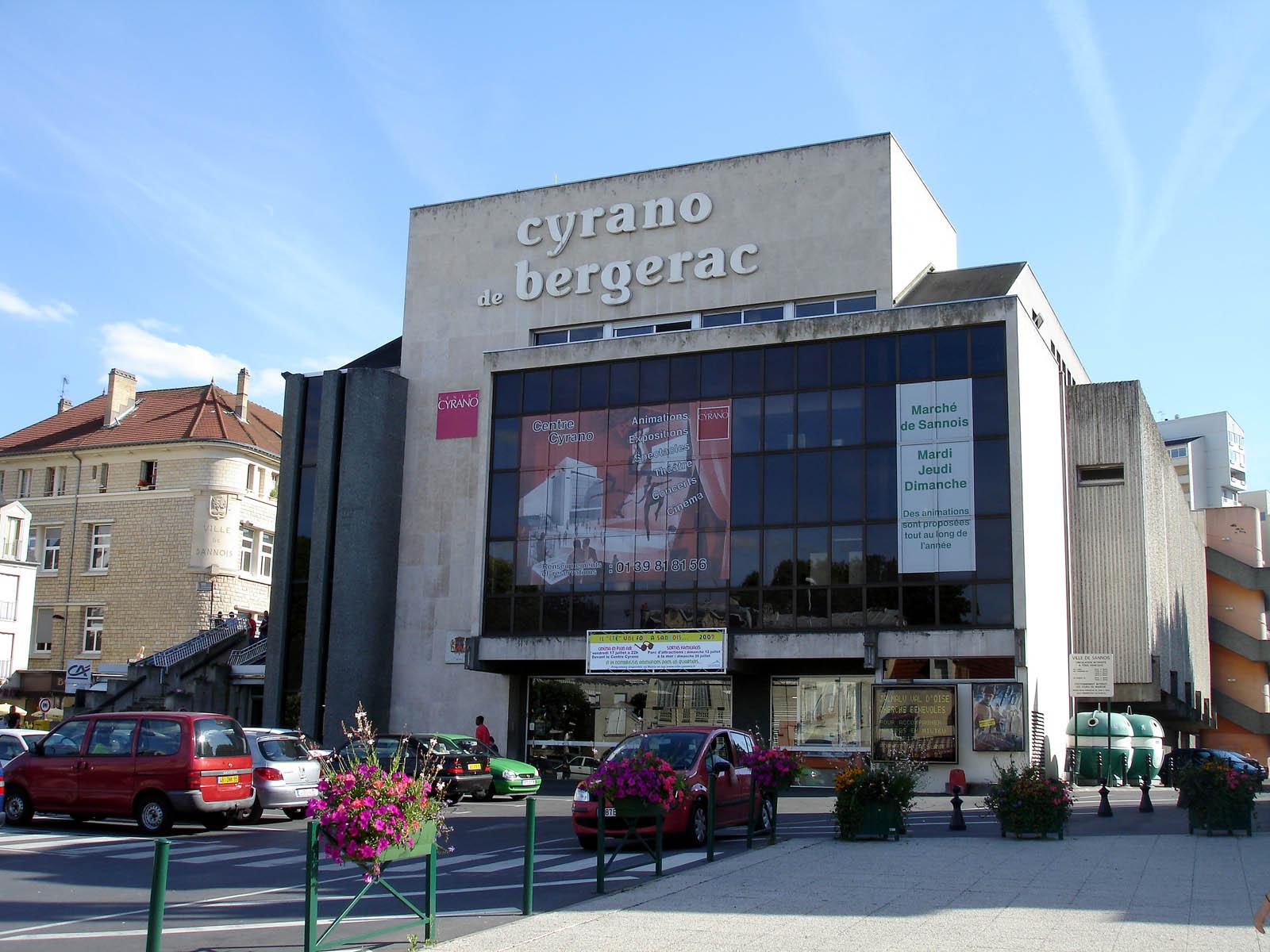 Sannois France  City new picture : Fichier:Sannois Centre Cyrano — Wikipédia