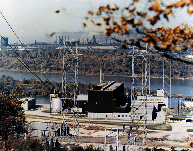 Shippingport Atomic Power Station, Pennsylvania, DOE photo<br />from https://en.wikipedia.org/wiki/File:Shippingport_Reactor.jpg Shippingport_Reactor.jpg