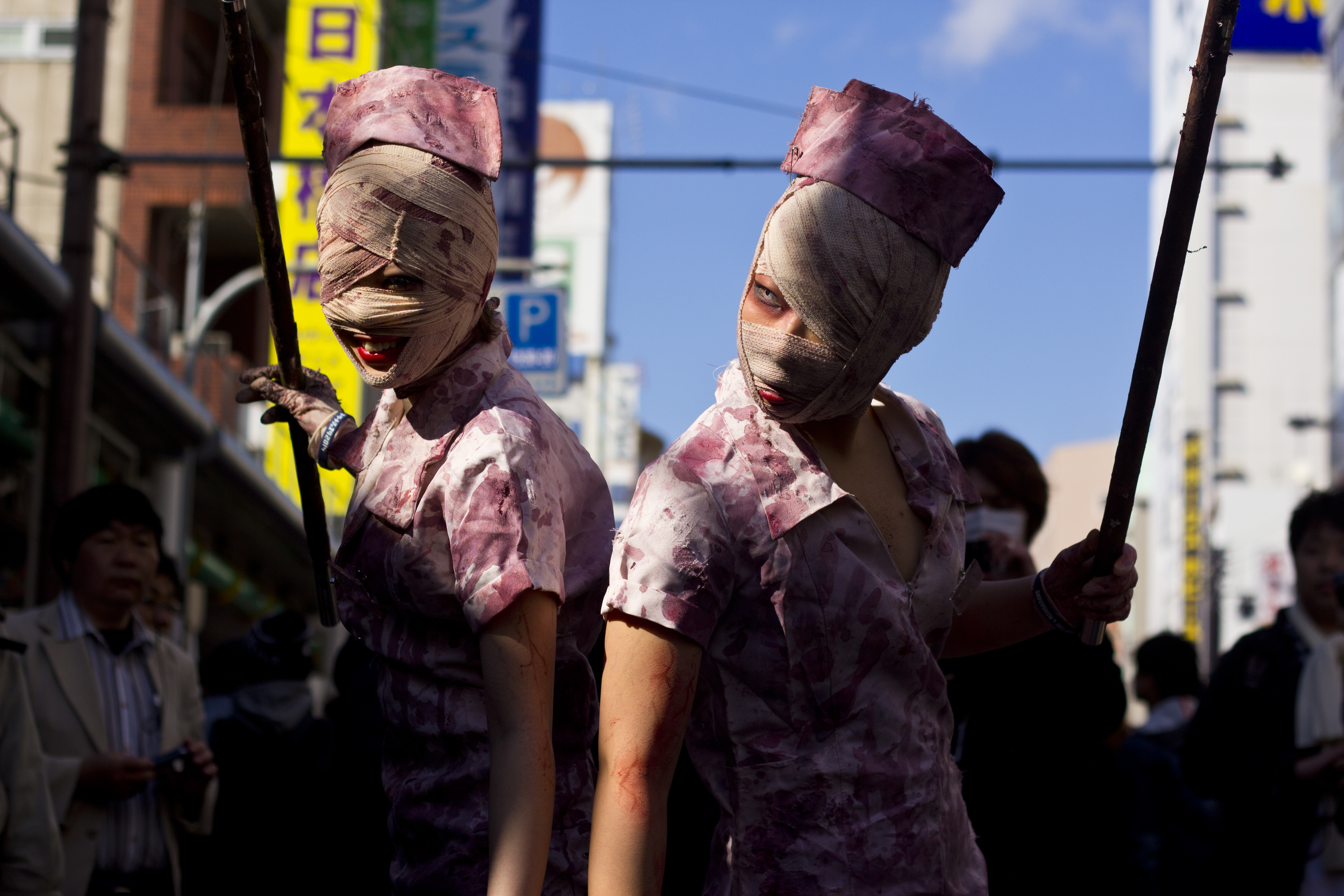 Cosplay Silent_Hill_nurses
