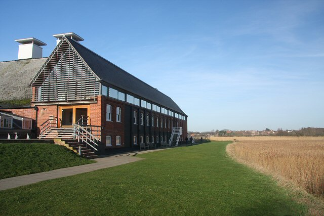 Snape Maltings Concert Hall - geograph.org.uk - 666311