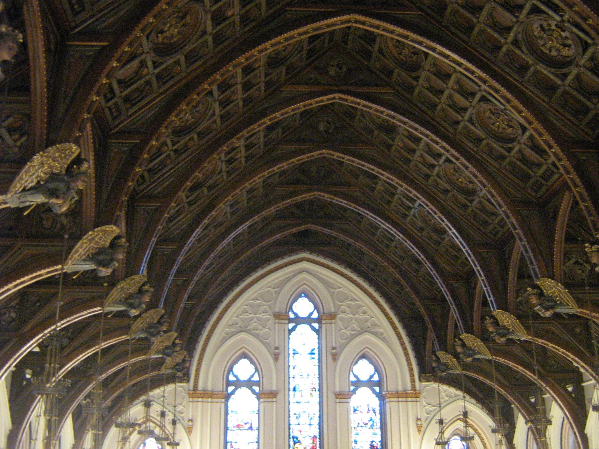 Interior of St. Mary's Church (1887 1893)