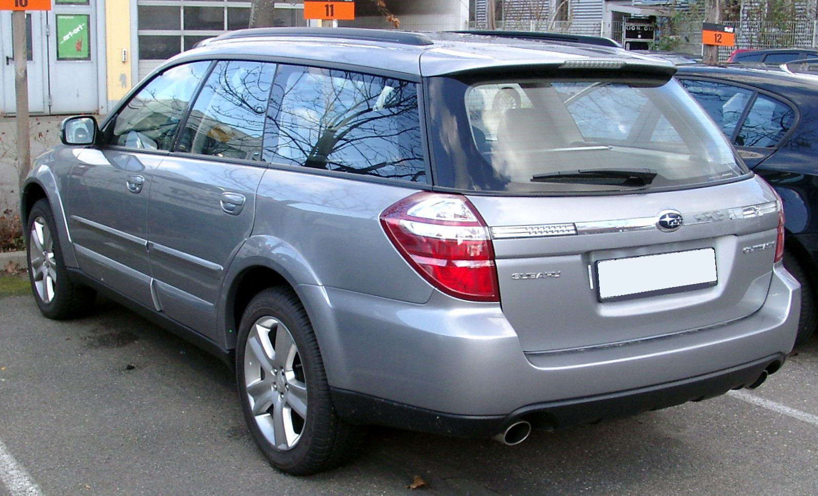 Subaru Outback 2019 >> File:Subaru Outback rear 20080202.jpg - Wikimedia Commons