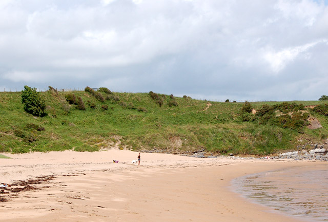 File Sugar Sands Beach At Low Water Geograph Org Uk 1371329