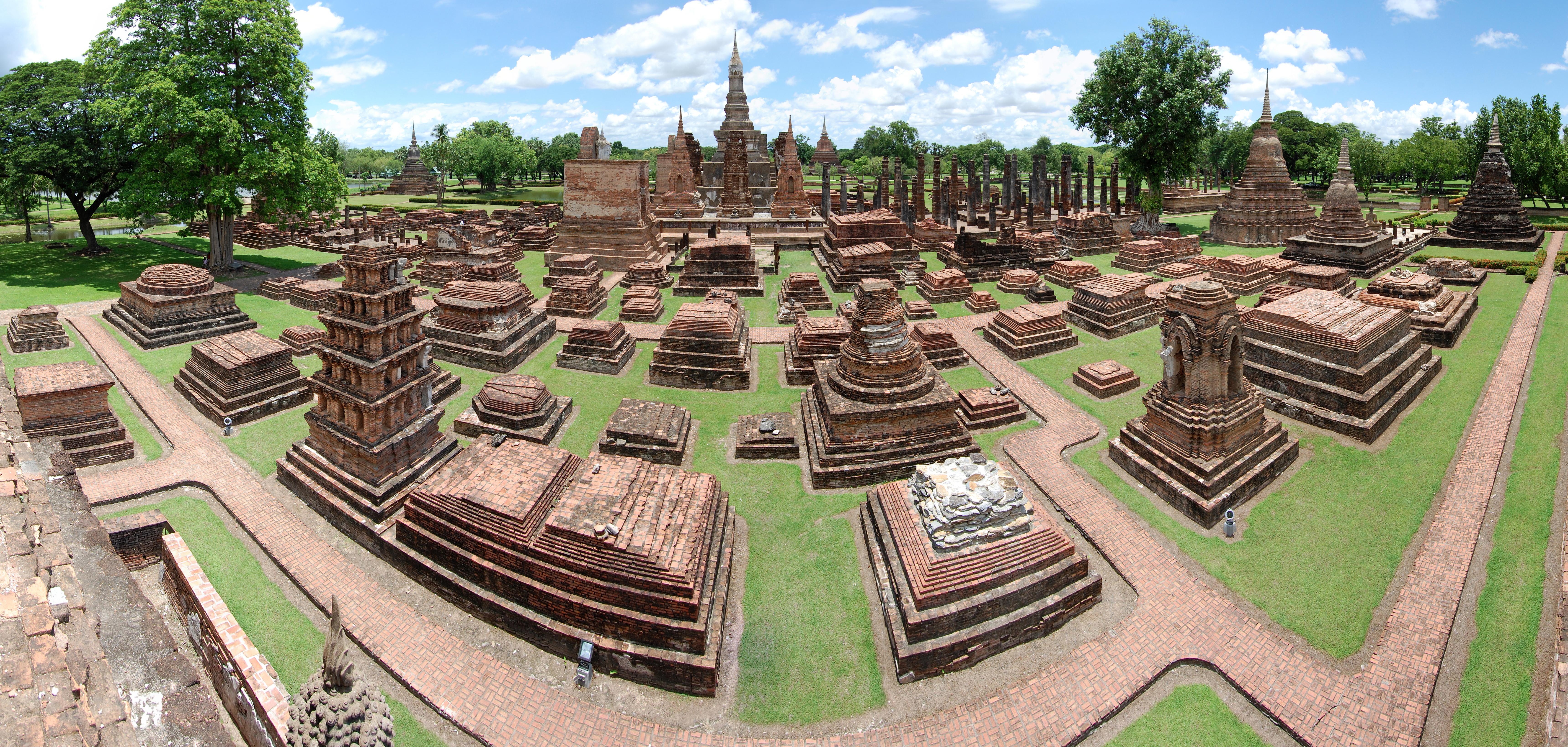 Sukhothai Historical Park en Tailandia