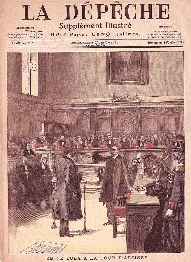 Supplément illustré de la Dépêche de Toulouse, n°1, 1ère année, du 13 février 1898.jpg