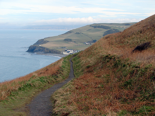 The Ceredigion Path on Constitution Hill - geograph.org.uk - 1166534