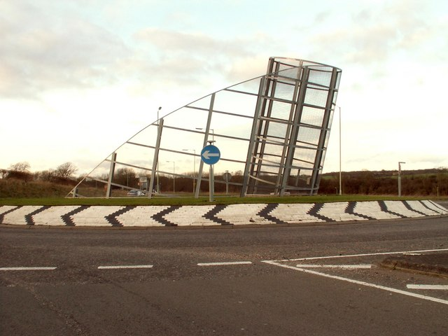 The Haverhill Roundabout Sculpture - geograph.org.uk - 310921