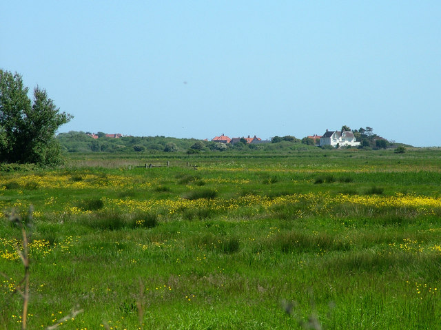 The edge of Thorpeness viewed from Aldeburgh - geograph.org.uk - 1345030