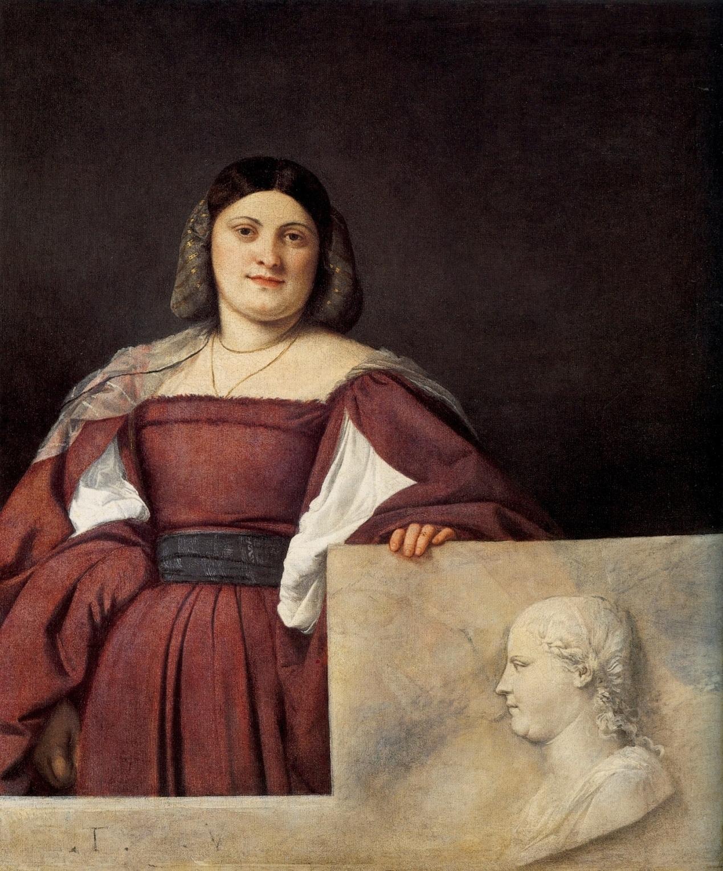 Tiziano -La Schiavona -1509/10