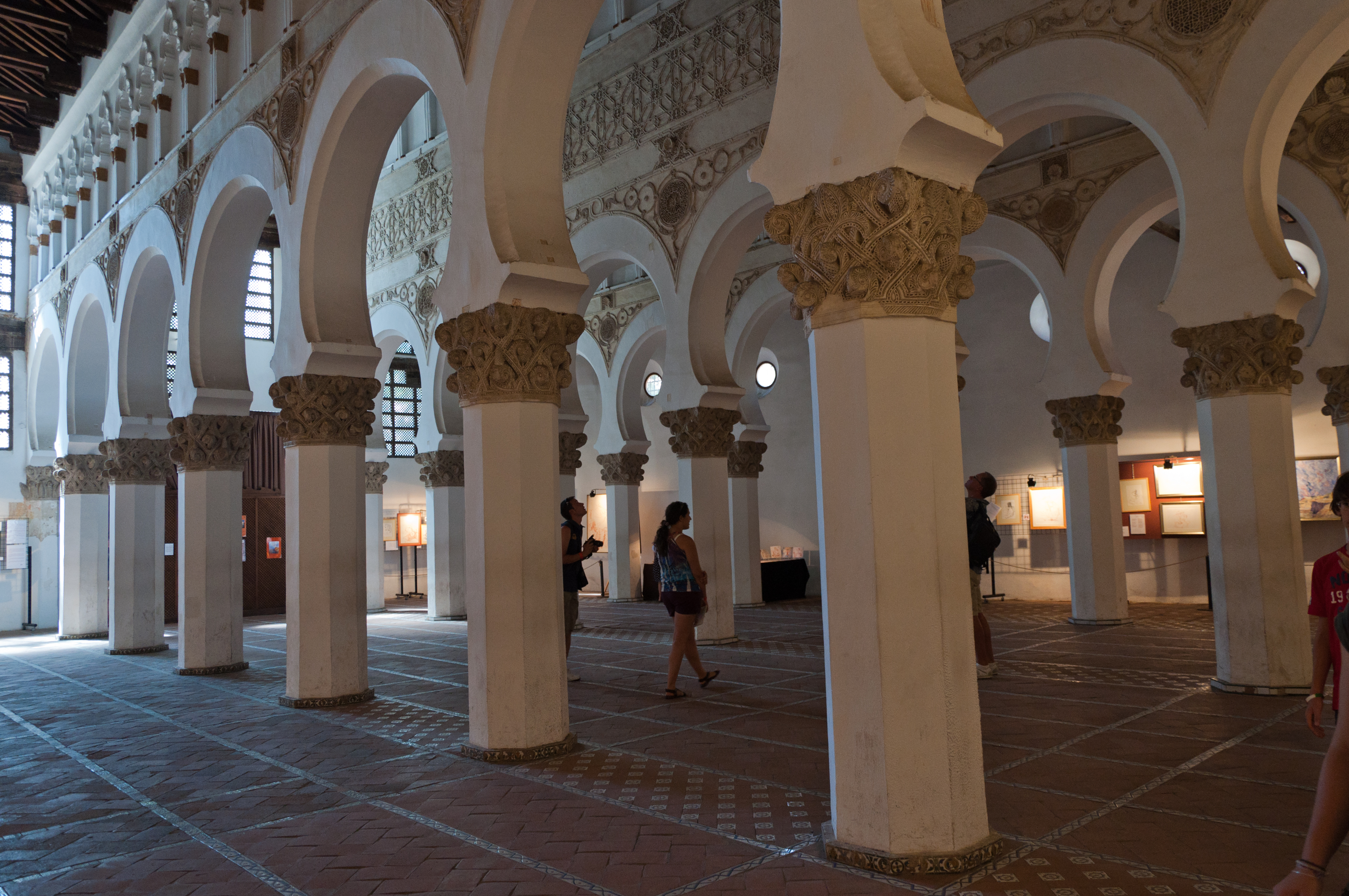 File:Toledo, Santa María la Blanca-1.jpg - Wikimedia Commons