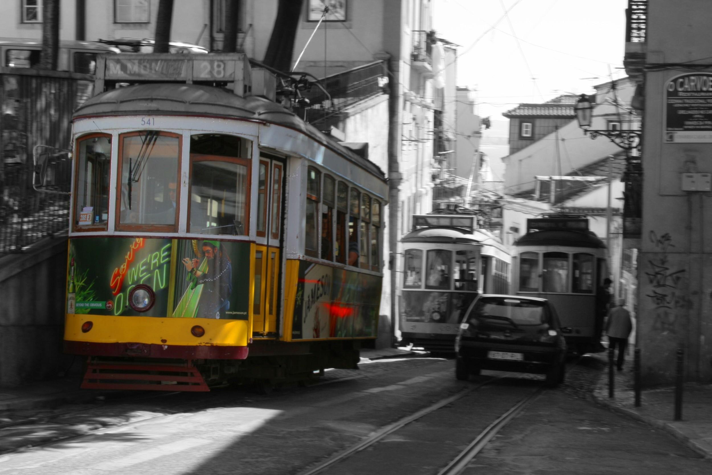 Altra immagine del tram nº 28