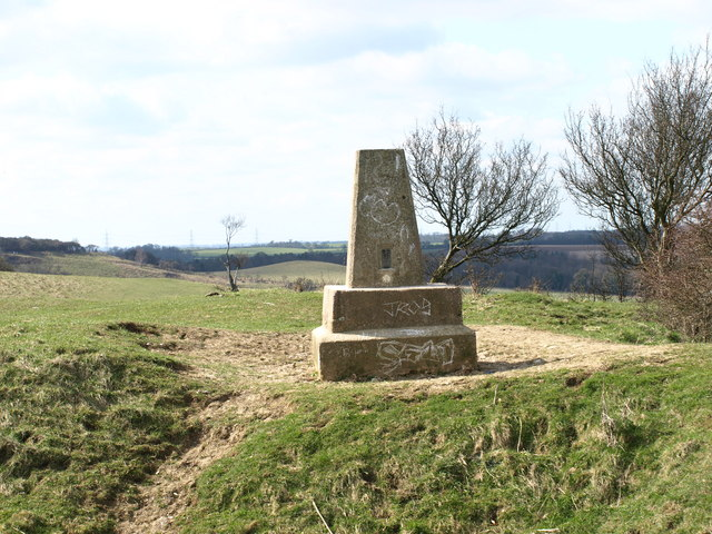 Trig Point - geograph.org.uk - 1215299